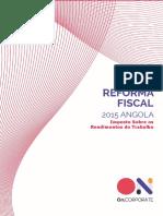 Reforma Fiscal e o Iva angola