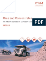 ICMM Ores and Concentrates an Industry Approach to EU Hazard Classification