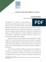 Tole Ran CIA y Democracia Los Valores Polticos en Veracruz Web