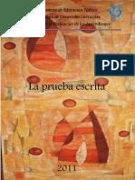 LA PRUEBA ESCRITA 2011 YARIT RIVERA.pdf