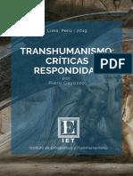Gayozzo, Piero - IET - Transhumanismo, Críticas Respondidas