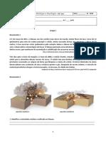 Ficha de trabalho vulcões e sismos