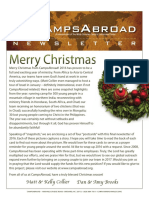 CampsAbroad Newsletter Winter 2016