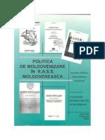 Politica de moldovenizare în RASS Moldovenească