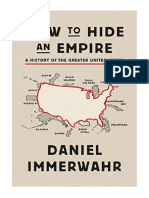 [2019] How to Hide an Empire by Daniel Immerwahr | A History of the Greater United States | Farrar, Straus and Giroux