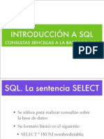 Introduccion SQL