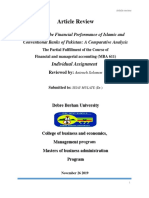 Finace and Accounting Reivew