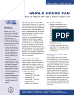 Whole House Fan (Garage)