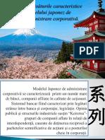 Trăsăturile Caracteristice Modelului Japonez de Administrare Corporativă