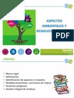 CAPACITACION ASPECTOS AMBIENTALES Y RESIDUOS PELIGROSOS.pptx