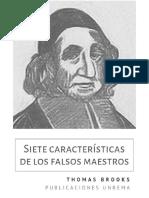 7 Caracter_sticas de los Falsos Maestros - Thomas Brooks (REVISADO).pdf