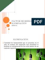 FACTOR DE RIESGO ILUMINACIÓN.pptx