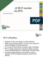 EPS - WiFi-Integration Into EPC