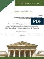 Arqueologia Del Bajo y Medio Rio Magdalena Apuntes