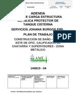 Adenda PT Construcción de Baño - Lado Este de Ofic. Calificador de Chatarra y Supervisores - Zona Metalico.docx