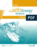 Earth Energy System - Buyer's Guide