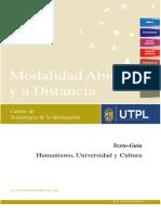 Texto Guía Humanismo Universidad y Cultura 09-12-2019