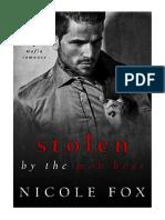 [2019] Stolen by the Mob Boss  by Nicole Fox | A Russian Mafia Romance (Bratva Hitman) |