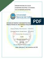 ingenieria de metodos ESTUDIO DE TIEMPOS Y MOVIMIENTOS (1).docx