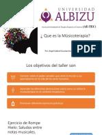 Presentacion de Musicoterapia Uca