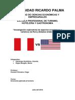 Conclusiones Específicas Perú - Ee.uu