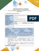 Guía de actividades y rúbrica de evaluación - Fase 4 - Propositiva.doc