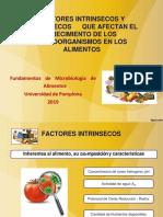 Factores Intrinsecos y Extrinsecos