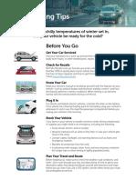 Winter Driving Tips - NHTSA