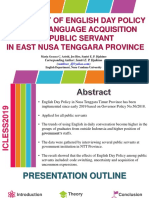 The Effect of English Day Policy in NTT.pptx
