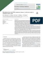 Mycoplasma bovis and bovine respiratory disease - A risk factor study in.pdf