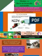 La Importancia de Los Catalizadores en El Cuidado Del Medio Ambiente/Módulo 15