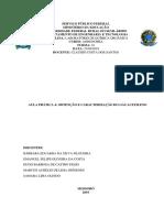OBTENÇÃO E CARACTERIZAÇÃO DO GÁS ACETILENO
