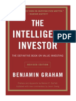 [2006] The Intelligent Investor by Benjamin Graham | The Definitive Book on Value Investing. A Book of Practical Counsel (Revised Edition) | Collins Business