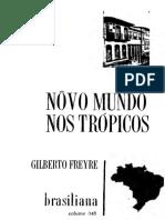 FREYRE, Gilberto - Novo Mundo nos Trópicos.pdf