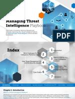 Anomali-Managing Threat Intelligence Playbook
