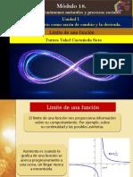 Límite de Una Función/Módulo 18