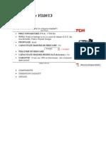 Motostivuitor FD30T3-Proiect Man