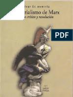 Echeverria, B - El materialismo de Marx. Discurso critico y revolución - Ítaca 2011.pdf