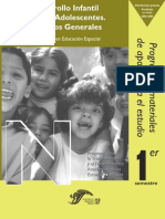 DESARROLLO INFANTIL Y DE LOS ADOLESCENTES