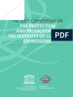 Unesco - Convention on Protection and Promotion of Diversity of Cultural Expression