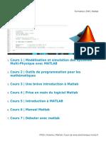 Formation PDF Matlab