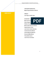 Plan de Desarrollo Municipal JIUTEPEC 2009-2012