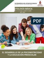 6TO EL DESARROLLO DE LA PSICOMOTRICIDAD Y LA EDUCACIÓN PREESCOLAR.pdf