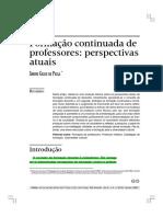 DE PAULA, S. Formação continuada de professores perspectivas atuais.pdf