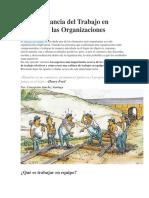 La importancia del Trabajo en Equipo en las Organizaciones.pdf