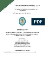 Programa de Auditoria Propiedad Planta y Equipo Y Cuentas Por Pagar Comerciales