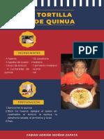 Tortilla de Quinua