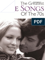(2h).- The Greatest Love Songs of the 70s
