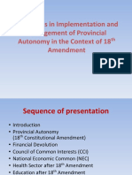 Analysis of 18th Amendment