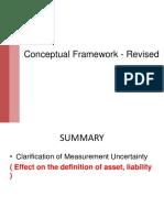 Revised Conceptual Framework